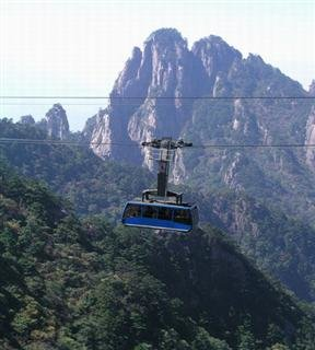 Yellow Mountain Cable Car