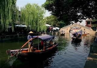 Shanghai and Zhouzhuang Water Village Tour