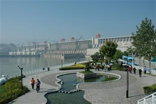 Three Gorges Dam Sightseeing Terrace