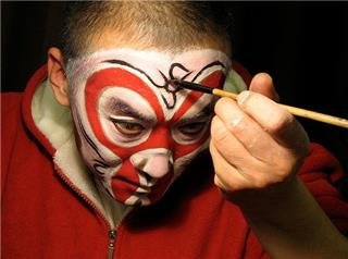 Peking Opera Facial Make-up