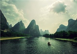 Warm Winter in Guilin