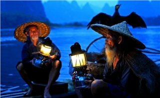 Fisherman by the Li River