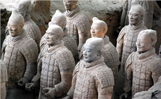 Terracotta Army in Xi