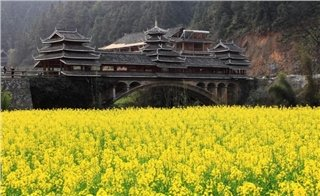 Wind and Rain Bridge in Sanjiang
