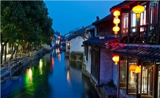 Zhouzhuang Water Town.