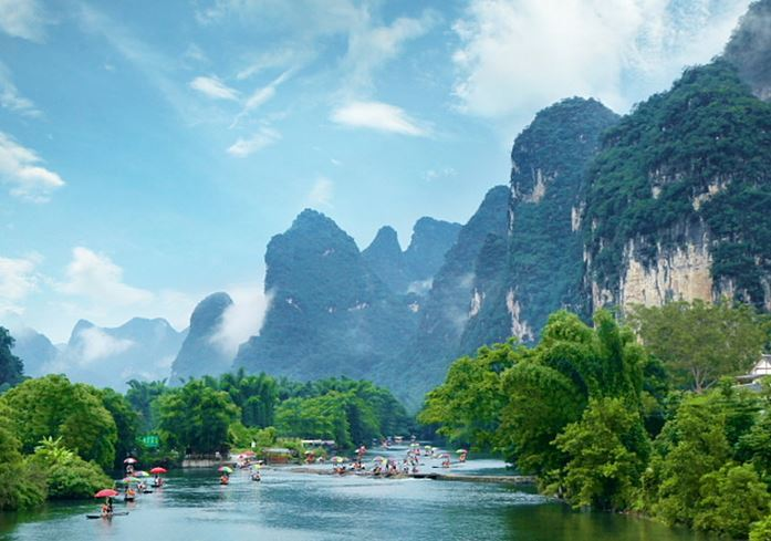 Guilin & Yangshuo Tour from Shanghai