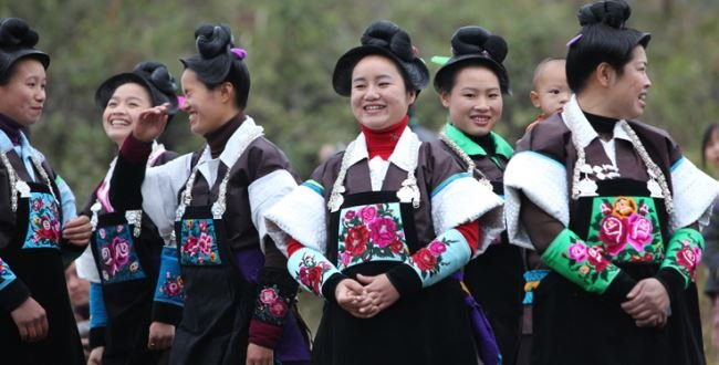 Villagers in Anshun