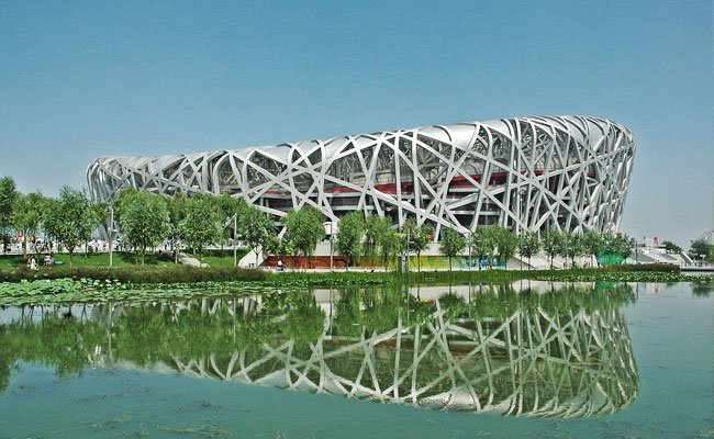 The National Stadium, also known as Bird's Nest