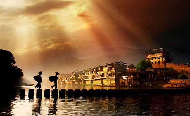 Beautiful Fenghuang Ancient Town