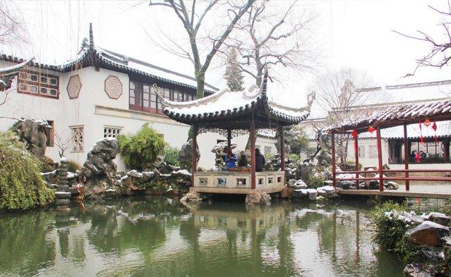 Linger Garden in Suzhou