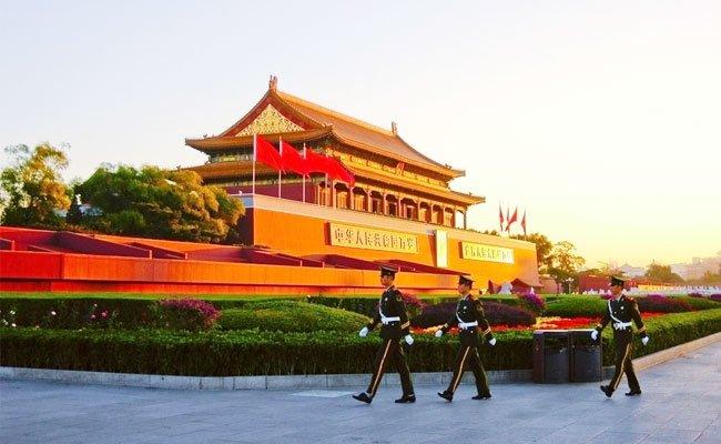 Tian'anmen Square in Beijing
