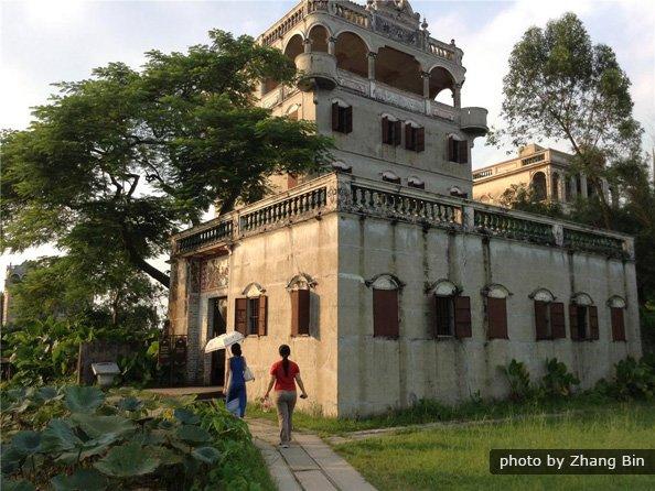 Kaiping Diaolou and Village Tour