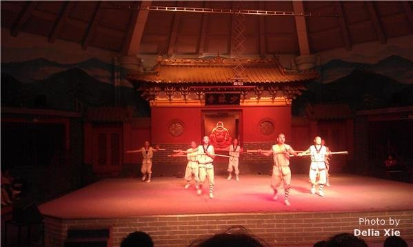 shaolin kungfu performance