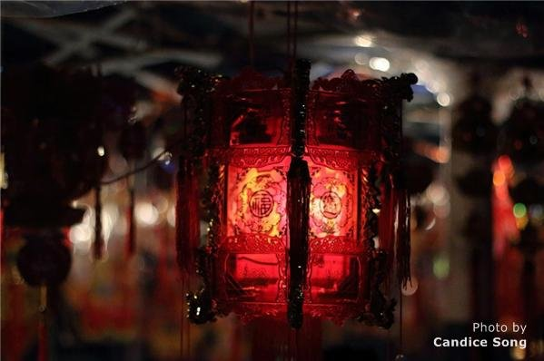 red lantern in New Year