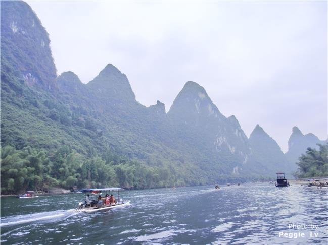 Kayaking in Yangshuo