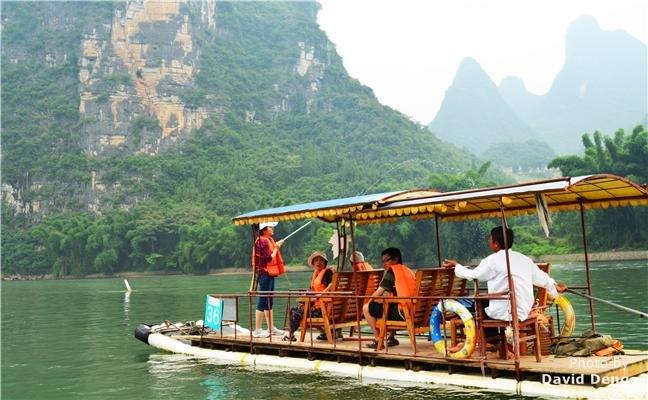 Half-Day Yangshuo Bamboo Rafting