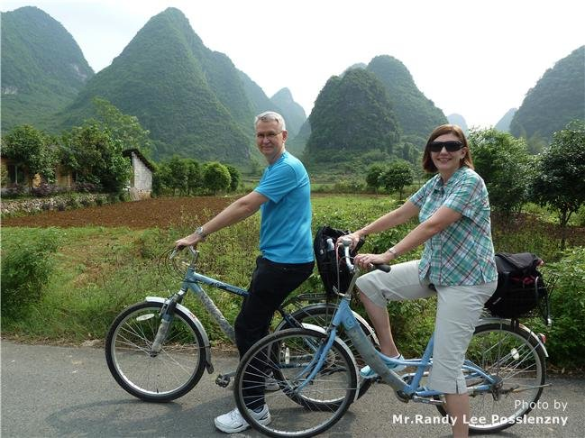 Guilin Yulong River Private Cycling Trip