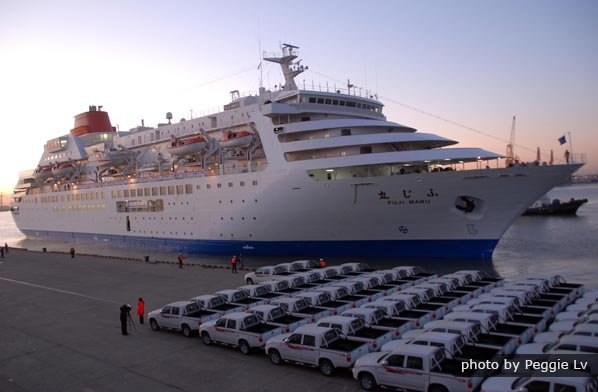 Group Transfer between Tianjin Cruise Port and Hotel in Beijing