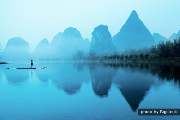 One Day Li River Cruise and Yangshuo Countryside Cycling