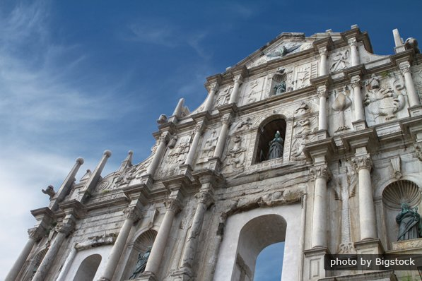 Ruins of St.Paul in Macau