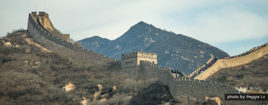 Badaling Great Wall & Changling (Ming Tomb) Seat-in-coach Tour (Group)
