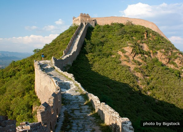 short essay on great wall of china