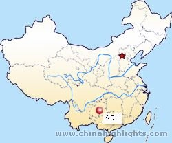 Kaili Location Map