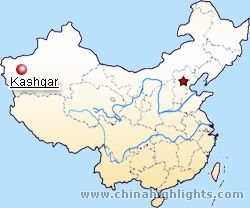 Kashgar Location in China