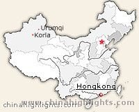 Korla Location in China
