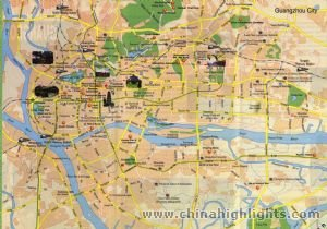 Guangdong Tourist Map