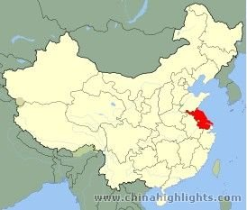 Jiangsu Location in China