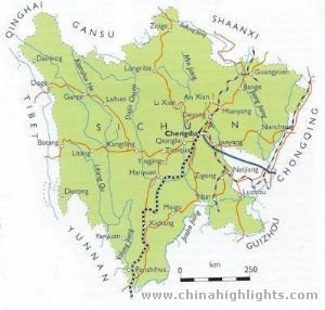 Sichuan Traffic Map
