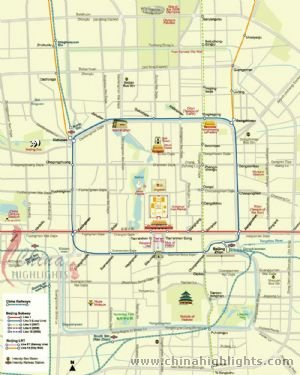 Beijing Zone Map