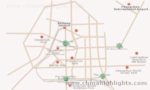 Changcun Attraction Map