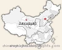 Jiayuguan Location in China