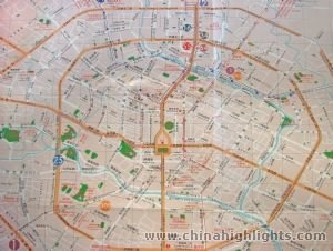 Chengdu Detailed City map