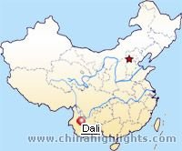 Dali Location in China