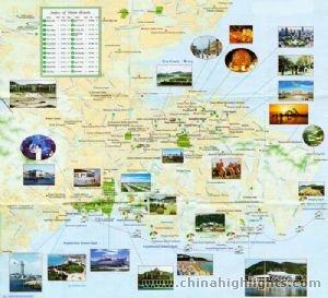 Dalian Tourist Map