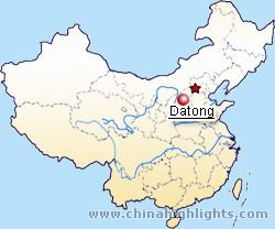 Map of Datong Location