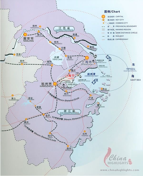 Haining Location Map