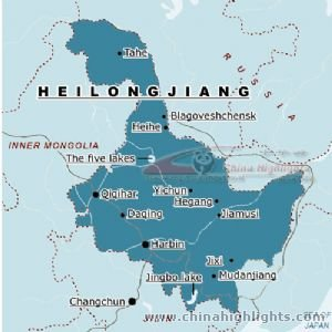 Harbin Location in Heilongjiang