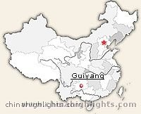 Guiyang Location in China