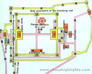 Jiayuguan Tourist Map