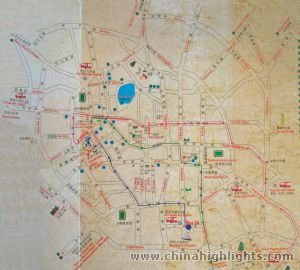 Kunming Tourist Map