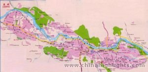 Lanzhou City Map