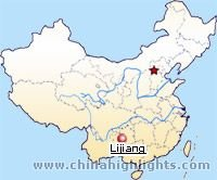Lijiang Location in China