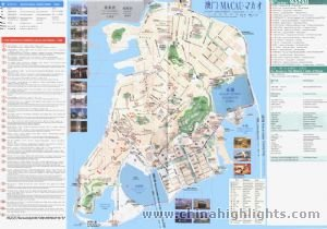 Macau Area Map