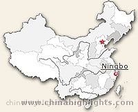 Ningbo Location in China