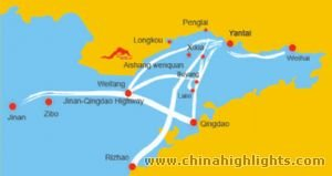 Qingdao Location in Shandong
