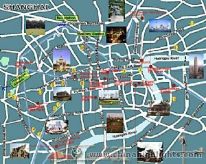 Shanghai Tourist Map